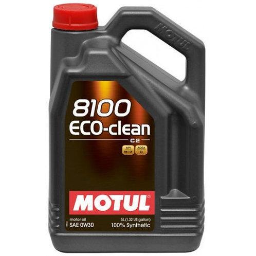 MOTUL 8100 ECO-CLEAN 0W30 C2 x5L