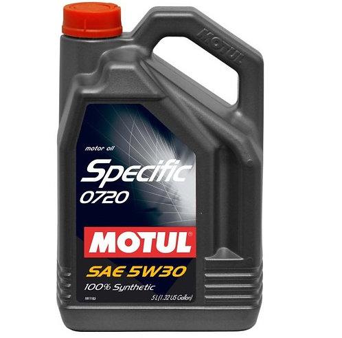 MOTUL SPECIFIC 720 5W30 x5L