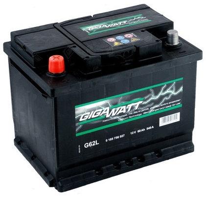 Акумулатор Gigawatt G62L