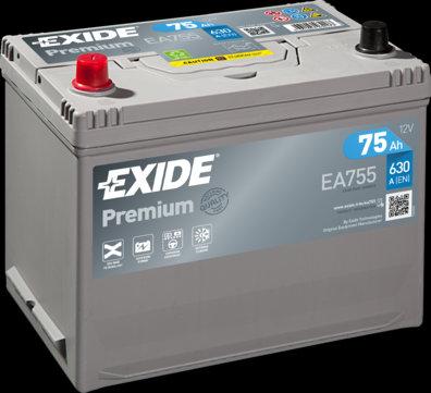Акумулатор EXIDE Premium *** EA755
