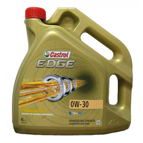CASTROL EDGE TITANIUM FST 0W30 x4L