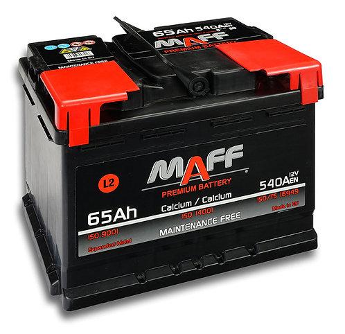 Акумулатор MAFF 56580 65Ah 540A