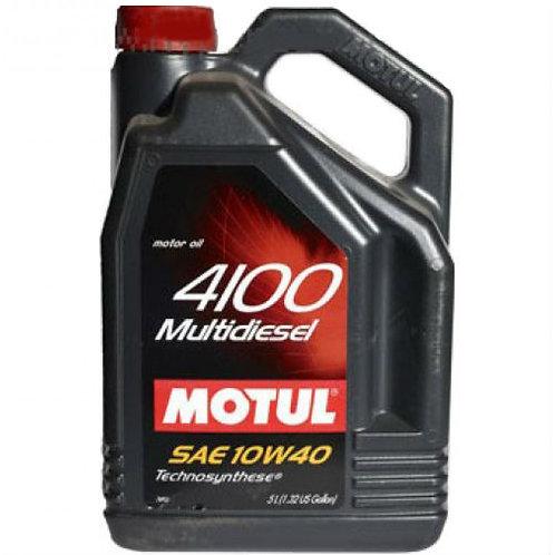 MOTUL 4100 MULTIDIESEL 10W40 x5L