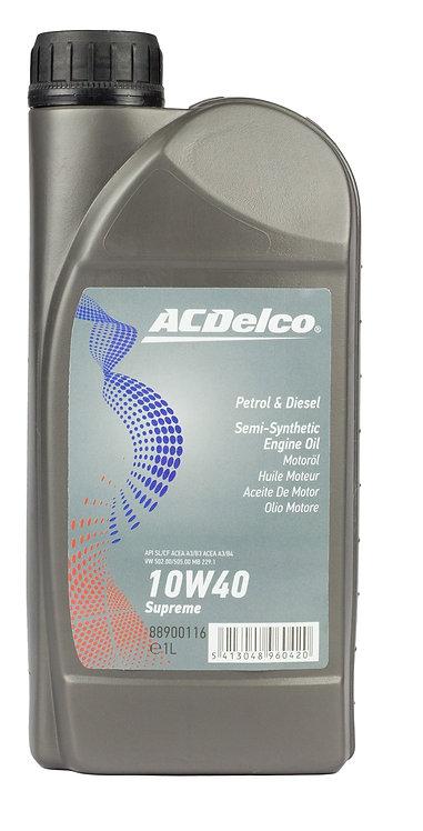 ACDelco 10W40 Supreme X1L