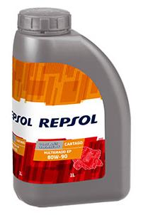 REPSOL CARTAGO MULTIGRADO EP 80W90 x1L