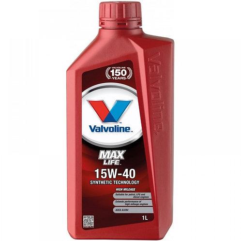VALVOLINE MAXLIFE 15W40 x1L