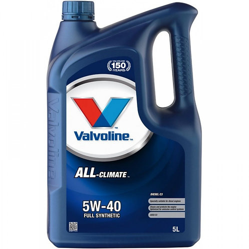 VALVOLINE ALL CLIMATE 5W40 x5L