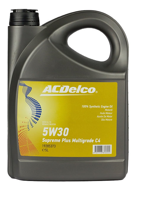 ACDelco 5W30 Supreme Plus MSLonglife II x5L