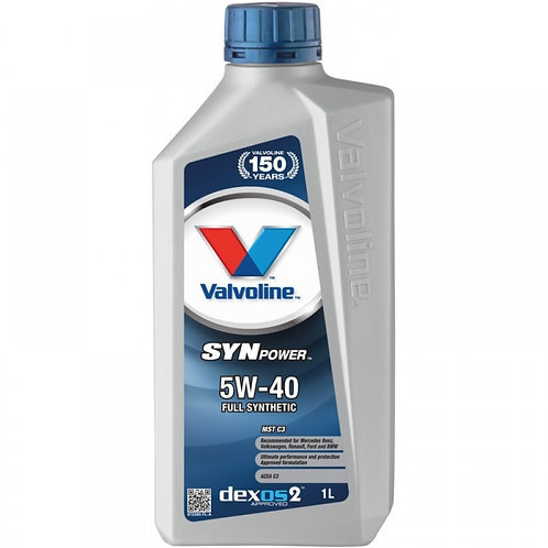 VALVOLINE SYNPOWER MST C3 5W40 x1L