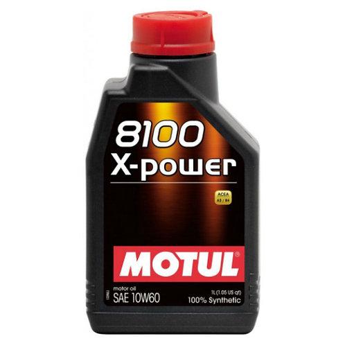 MOTUL 8100 X-POWER 10W60 x1L