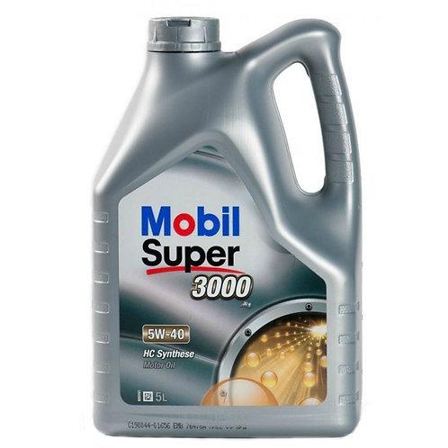 MOBIL SUPER 3000 X1 5W40 x5L