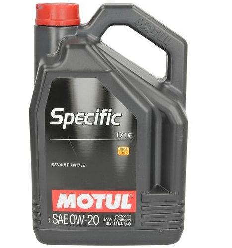 MOTUL SPECIFIC 17 FE 0W20 x5L