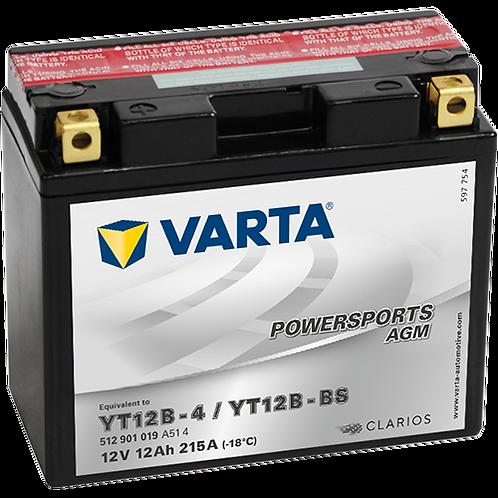 Акумулатор VARTA POWERSPORTS AGM 512 901 019 YT12B-BS