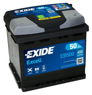 Акумулатор EXIDE Excell ** EB500