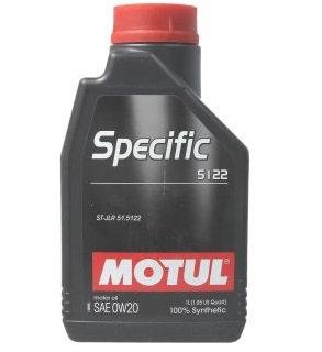 MOTUL SPECIFIC 5122 0W20 x1L