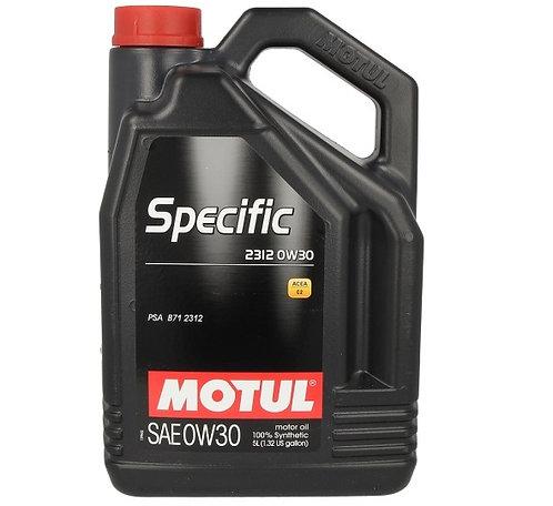 MOTUL SPECIFIC 2312 0W30 x5L