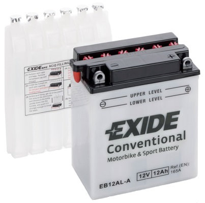 Акумулатор EXIDE Conventional EB12AL-A YB12AL-A