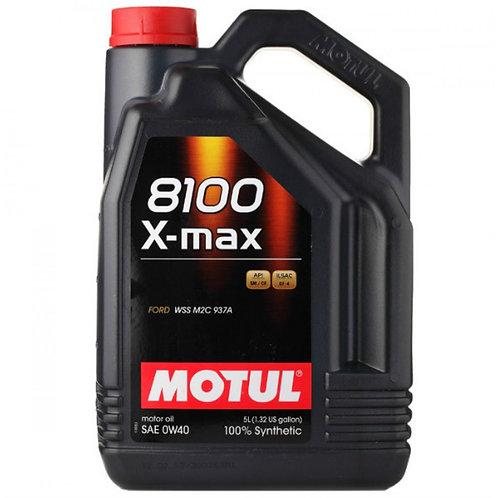 MOTUL 8100 X-MAX 0W40 x5L