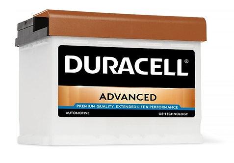Акумулатор DURACELL ADVANCED DA 63H