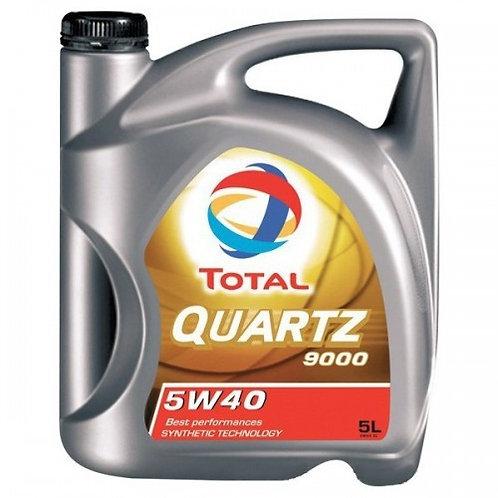 TOTAL QUARTZ 9000 5W40 x5L