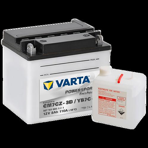 Акумулатор VARTA POWERSPORTS Freshpack 507 101 008 YB7C-A
