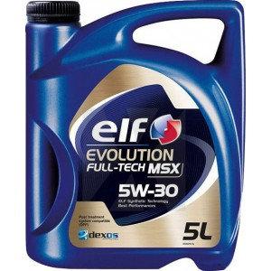 ELF EVOLUTION FULL-TECH LLX 5W30 x5L