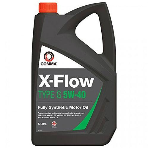 COMMA X-FLOW TYPE G 5W40 x5L