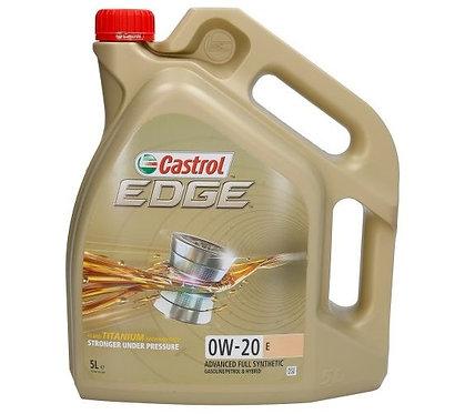 CASTROL EDGE PROFESSIONAL E 0W20 x5L