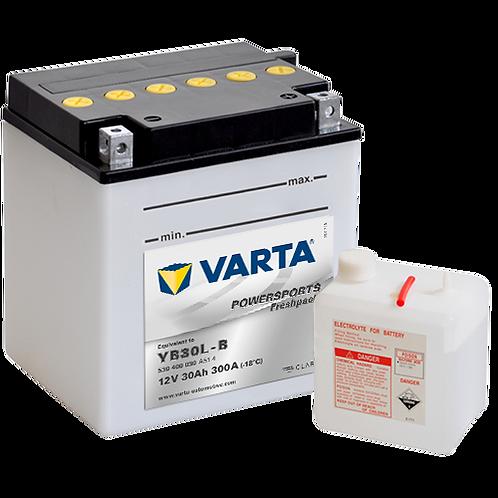 Акумулатор VARTA POWERSPORTS Freshpack 530 400 030 YB30L-B