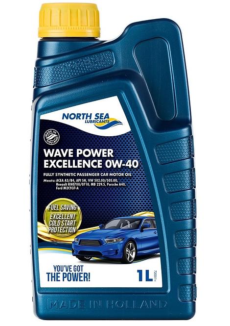 NORTH SEA WAVE POWER EXELLENCE 0W40 x1L