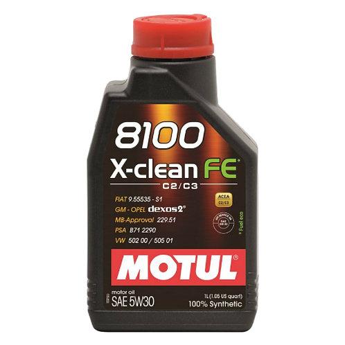 MOTUL 8100 X-CLEAN FE 5W30 x1L