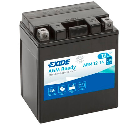 Акумулатор EXIDE Maintenance Free AGM 12-14