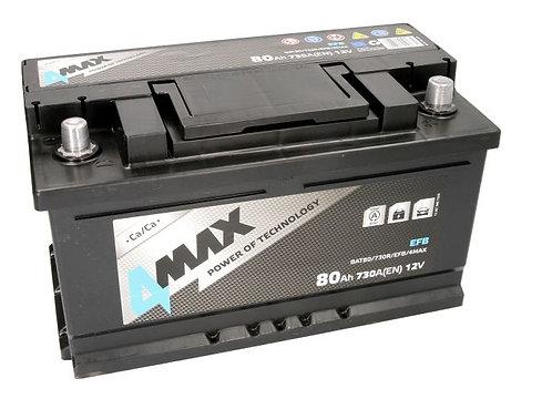 Акумулатор 4MAX BAT80/730R/EFB