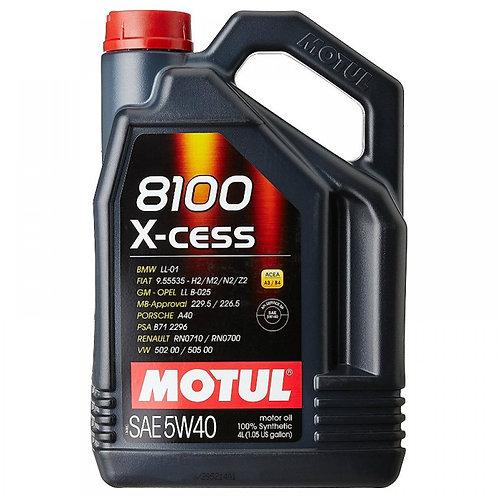 MOTUL 8100 X-CESS 5W40 x4L