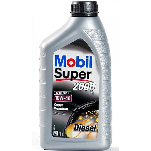 MOBIL SUPER 2000 X1 DIESEL 10W40 x1L