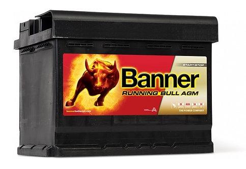 Акумулатор BANNER RUNNING BULL AGM 560 01
