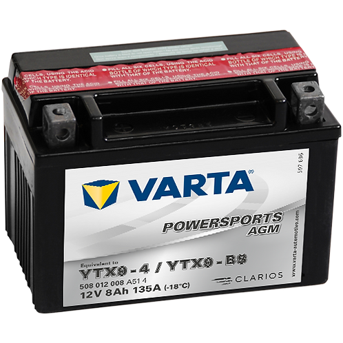 Акумулатор VARTA POWERSPORTS AGM 508 012 008 YTX9-BS