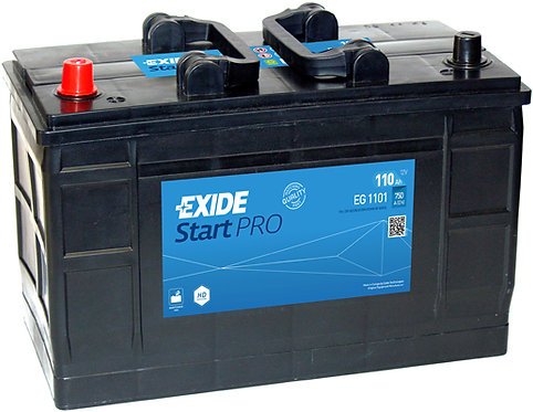 Акумулатор EXIDE Start PRO EG1101