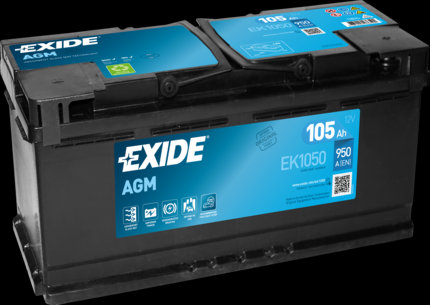 Акумулатор EXIDE Start-Stop AGM EK1050
