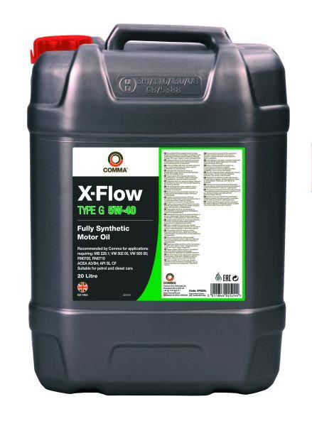 COMMA X-FLOW TYPE G 5W40 x20L