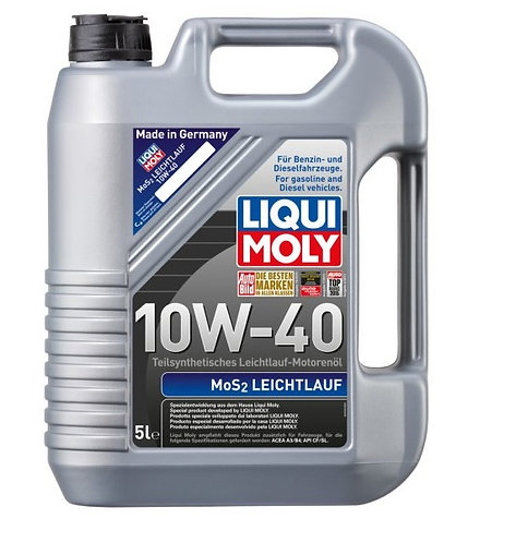 LIQUI MOLY Leichtlauf MOS2 10W40 x5L