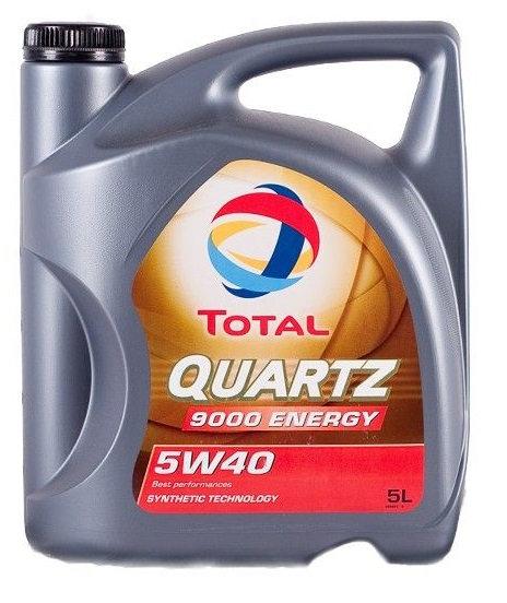 TOTAL QUARTZ  ENERGY 5W40 x5L