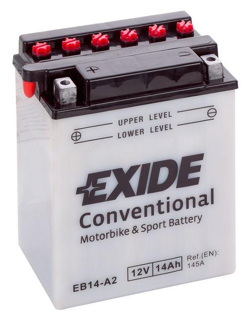 Акумулатор EXIDE Conventional EB14-A2 YB14-A2