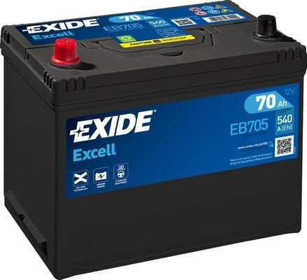 Акумулатор EXIDE Excell ** EB705