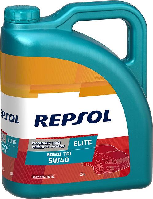 REPSOL ELITE 50501 TDI 5W40 x5L