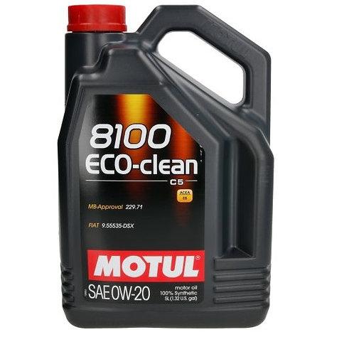 MOTUL 8100 ECO-CLEAN 0W20 x5L