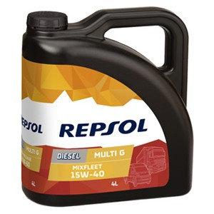 REPSOL MIXFLEET 15W40 x4L