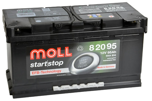 Акумулатор MOLL Start-Stop EFB 82095