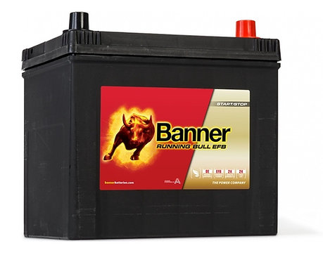Акумулатор BANNER Running Bull EFB 565 15 ASIA