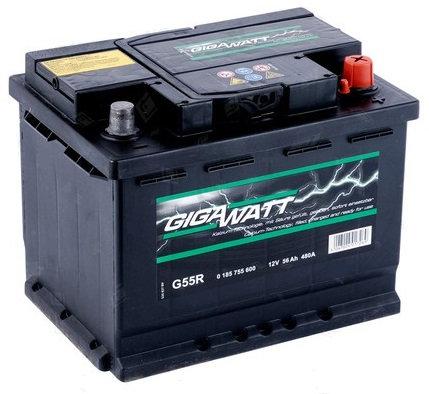 Акумулатор Gigawatt G55R